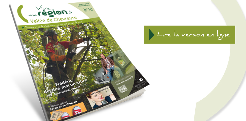 Le magazine Vallée de Chevreuse n°10 vient de paraître !